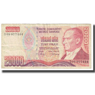 Billet, Turquie, 20,000 Lira, 1970, 1970-01-14, KM:201, TB - Turquie