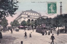 75 - PARIS 01 - La Place Et Le Theatre Du Chatelet - Arrondissement: 01