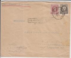Belgium Cover To USA (Red-4000-6) - Belgium