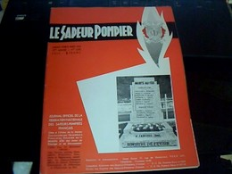 Militaria Pompier Revue Le Sapeur Pompier Trimensuel 1/02/03/1966 Avec Des Pubs 79 Pages - Firemen