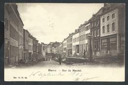 +++ CPA - HERVE - Rue Du Marché    // - Herve