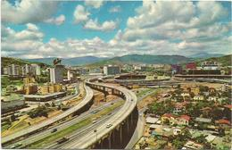 W2775 Venezuela - Caracas - El Pulpo - Distribuidor De Transito - Stadio Stadium / Viaggiata 1965 - Venezuela