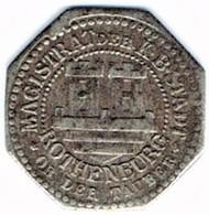 Allemagne - Nécessité - ROTHENBURG 10 Pfennig - Monétaires/De Nécessité