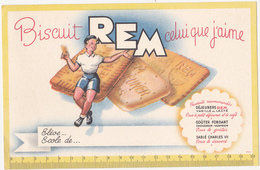 Buvard Biscuit REM - Cake & Candy