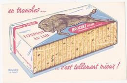 Buvard PAIN D'EPICES BROCHET Frères Besançon - Gingerbread