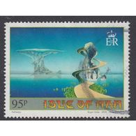Isle Of Man 2016 Art Of Roger Dean - Islands And Bridges 95p - Isle Of Man