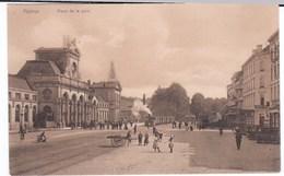 Namur Cpa Place De La Gare Animé - Namur