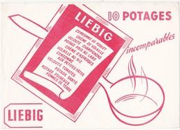 Buvard Potage LIEBIG - Sopas & Salsas