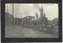 CPA Hollande Pays Bas Gare Station Locomotive Chemin De Fer Non Circulé Carte Photo RPPC - Other