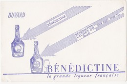 Buvard BENEDICTINE La Grande Liqueur Française - Liquor & Beer