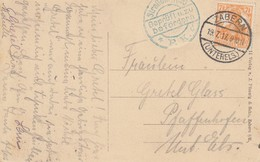 CP Affr Michel 99 Obl ZABERN / (UNTERELS) Du 19.7.17 Adressée à Pfaffenhoffen - Marcophilie (Lettres)