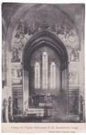Liège Cpa Choeur De L'Eglise Salésienne N.D Auxiliatrice - Liege