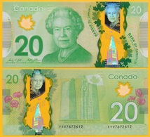 Canada 20 Dollars P-108b 2012 UNC Polymer Banknote - Canada
