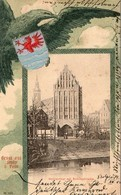 GRUSS AUS STOLP  ( SLUPSK, Pologne ), écrite En 1901 - Pologne