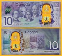 Canada 10 Dollars P-112 2017 Commemorative UNC Polymer Banknote - Canada
