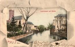 STOLP  ( SLUPSK, Pologne ), écrite En 1902 - Pologne