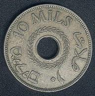 Palestine, 10 Mils 1927 - Coins