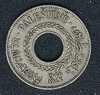 Palestine, 5 Mils 1946 - Coins