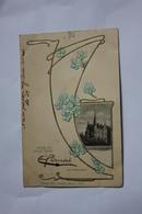 GRUSS AUS STOLP  ( SLUPSK, Pologne ), écrite En 1902 - Am Blucherplatz - Pologne