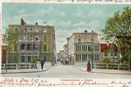 STOLP  ( SLUPSK ), écrite En 1903 - Schmiedebrucke U. Strasse - Pologne