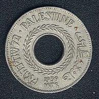 Palestine, 5 Mils 1939, XF - Coins