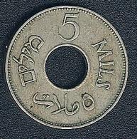 Palestine, 5 Mils 1927 - Coins