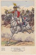 Uniformes Du 1er Empire Trompette Du 5eme Régiment  Carte Tirée à 400 Ex - Uniformen