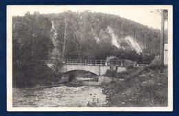 Juzaine-Bomal Sur Ourthe.  ( Durbuy). L' Aisne. Le Pont Et Les Roches - Durbuy