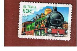 AUSTRALIA  -  SG 2435 - 2004 LOCOMOTIVES: PARRAMATTA 1855  - USED - 2000-09 Elizabeth II