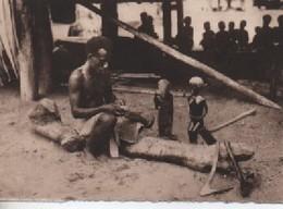 SAMOA ??  ENFANTS   SCULTEUR PAS CPA MAOS FORMAT - Samoa