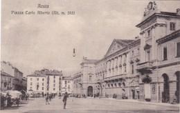 Italie - Aosta - Piazza Carlo Alberto (Alt. M. 583) - Aosta