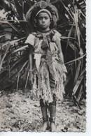 SAMOA  PETITE FILLE  EN COSTUME DE FETE - Samoa