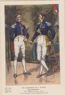 Uniformes Du 1er Empire  Officiers En Frac 1813 - Uniformen