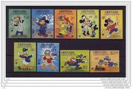 """Grenade / Grenada /Grenadines 1979 """" Année Enfance """" 9 Val.:complet - Mnh*** - Disney"""