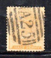 APR781 - MALTA 1863 , 1/2  Penny Usato Unificato N. 3 Fil CC Dent 14  (2380A) . - Malta