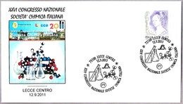 CONGRESO SOCIEDAD QUIMICA ITALIANA - Italian Chemical Society Congress. Lecce 2011 - Química