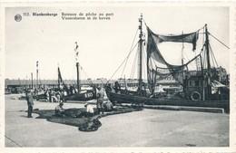 CPA - Belgique - Blankenberge - Blankenberghe -Bâteaux De Pêche Au Port - Blankenberge