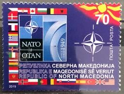 North Macedonia, 2019, The 70th Anniversary Of NATO (MNH) - Macedonia