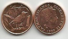 Cayman Islands 1 Cent 1999. High Grade - Kaimaninseln