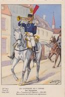 Uniformes Du 1er Empire Trompette Du 9 Eme Régiment  1804-1805      400 Ex - Uniformen