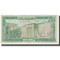 Billet, Lebanon, 5 Livres, KM:62c, NEUF - Liban