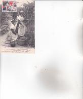 CPA 13 ARLES ,Types D'Arlésiennes.LA VENDANGE.(1903) - Arles