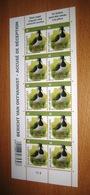 4367**  Compleet Vel Met Plaatnummer 2 BUZIN Kievit  Postfris** / Vanneau Huppé - 1985-.. Birds (Buzin)