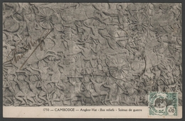 046 CARTE POSTALE INDOCHINE - CAMBODGE - Angkor-Vat - Cambogia