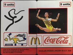 Paco \ ISRAELE \ Remote ? \ Puzzle 2 Card \ Mc Donalds - Coca-Cola \ Nuove Non Grattate - Israele