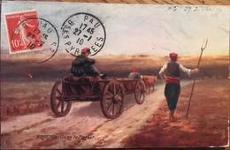 "Cpa ARMÉNIE / ARMENIAN : ARMENIA - GOING TO MARKET : TUCK'S POSTCARD ""OILETTE"" / VILLAGE LIFE In ARMENIA, 1910 - Armenia"