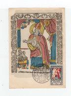 Carte Maximum France N° 904 Musée Imagerie D'Epinal 1951. Timbre Et Image De St Nicolas. (2211x) - 1950-59