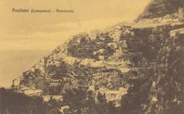 POSITANO-SALERNO-PANORAMA -CARTOLINA VIAGGIATA IL 6-6-1912 - Salerno