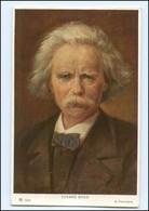 Y11239/ Komponist Edvard Grieg Verlag Ackermann Ca.1925 AK - Famous People