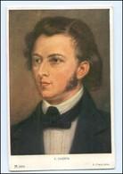 Y11238/ Komponist Chopin Verlag Ackermann Ca.1925 AK - Famous People